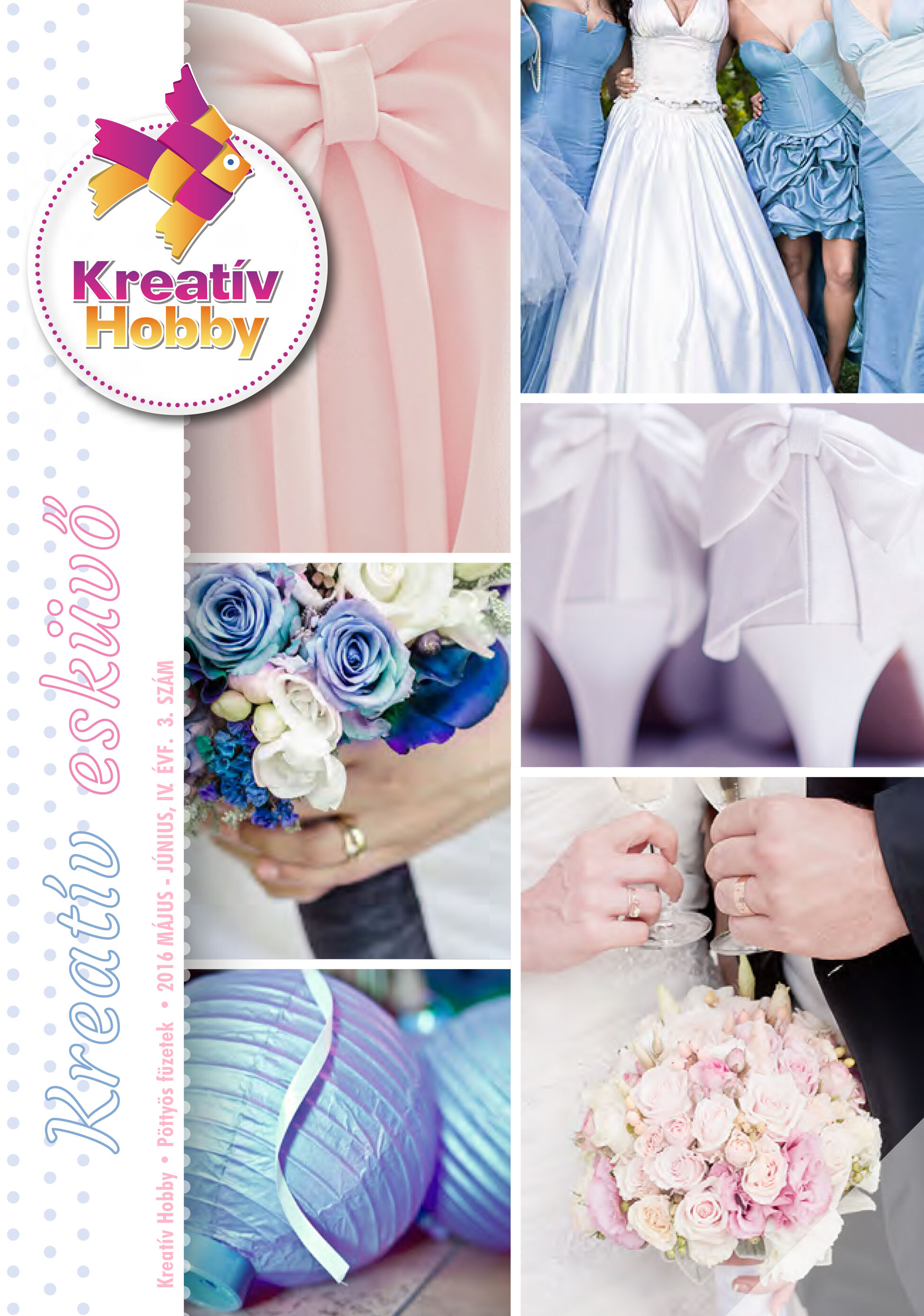 Pöttyös füzet - Kreatív esküvő - 2016
