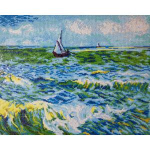 A tenger Saint Maries-nél 63*53cm Teljesen kirakható