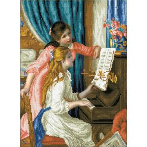 """""""Lányok a zongoránál"""" (Renoir) 56*74cm"""