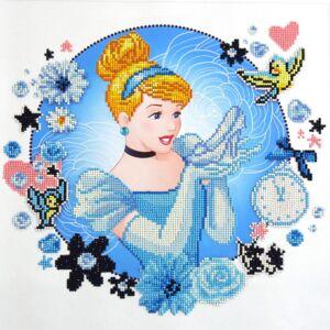 Cinderella's World Diamond Painting Kit40x40 cm