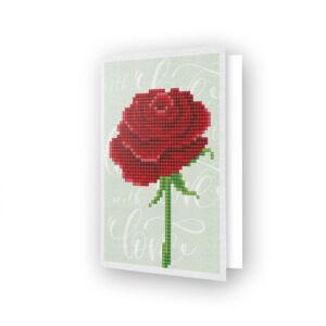DD Greeting Card - Love Rose