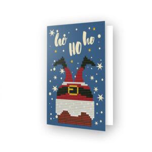 DD Greeting Card HO HO HO