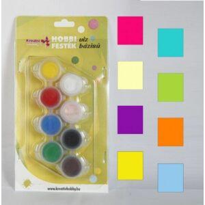 Hobby festék készlet 8x5ml kiegészítő színek
