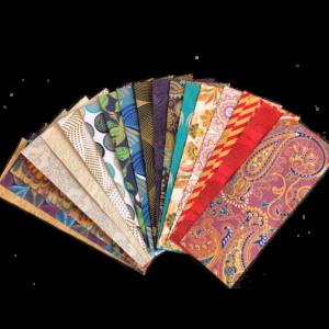 Indiai, handmade papers csomagban 30x8 cm 19 db/cs