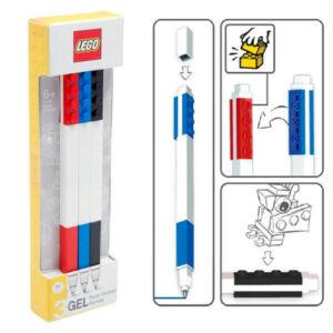 LEGO Zselés toll - 3 db - piros, fekete, kék