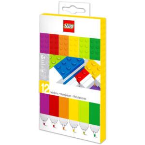 LEGO színes filctollak - 12 db