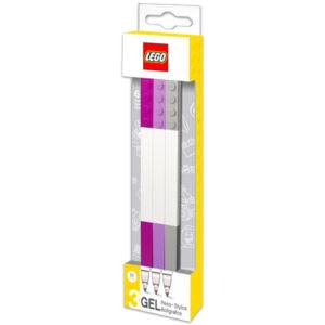 LEGO Zselés toll - 3 db - Pasztel színek