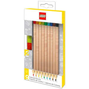 LEGO színesceruza készlet 9 db + topper