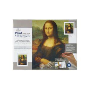 Mester kifestő,Leonardo da Vinci :Mona LIsa 355*279mm (Feszített vászon)
