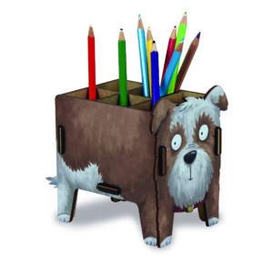 Asztali ceruzatartó - Kutyus
