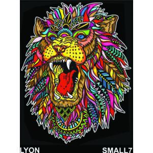 Colorvelvet bársonykép 21x29,7 cm/Lion