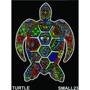 Colorvelvet bársonykép 21x29,7 cm/Turtle