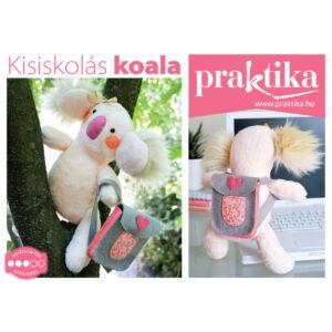 Praktika DIY Kreatív készlet - Kisiskolás Koala