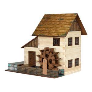 Fa építkezős játék - Vizimalom