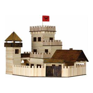 Fa építkezős játék - Kastély