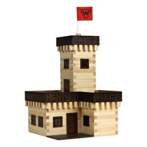 Fa építkezős  játékok - Nyári Kastély