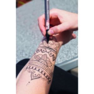 Tattoo tetováló toll piros