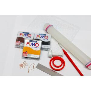 FIMO Soft süthető gyurma - Szilvakék