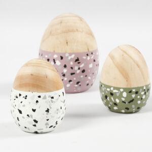 Bőr fülű tojásnyuszi, 19*7,9cm