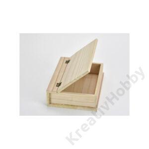Natúr fa papírusz doboz