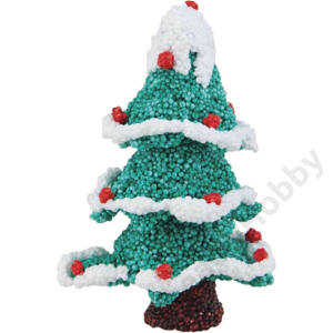 Glitteres gyurma ,Karácsonyi 14g,6db/cs
