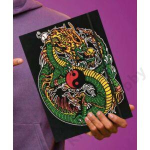 Colorvelvet gumis mappa/Chakra