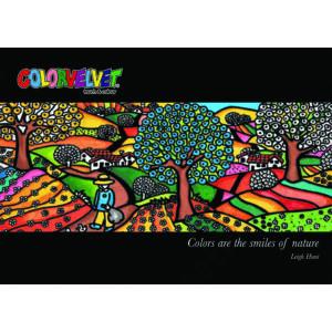 Colorvelvet bársonykép 47x35 cm/Puppy dog