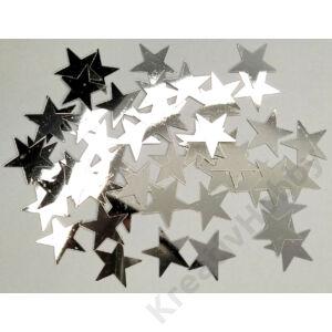Konfetti,ezüst,Csillag 40g. Kb.200db/cs