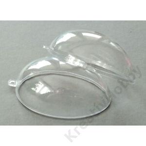 Műanyag tojás 6cm