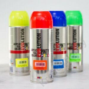 EVO akril spray F136 FLUOR.ZÖLD 400ml