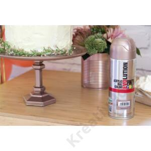 Pinty Plus Evolution akrilspray 200ml, arany
