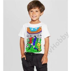 Színezhető pólók -Football, korosztály 5-6