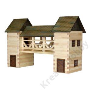 Fa építkezős játék - Híd