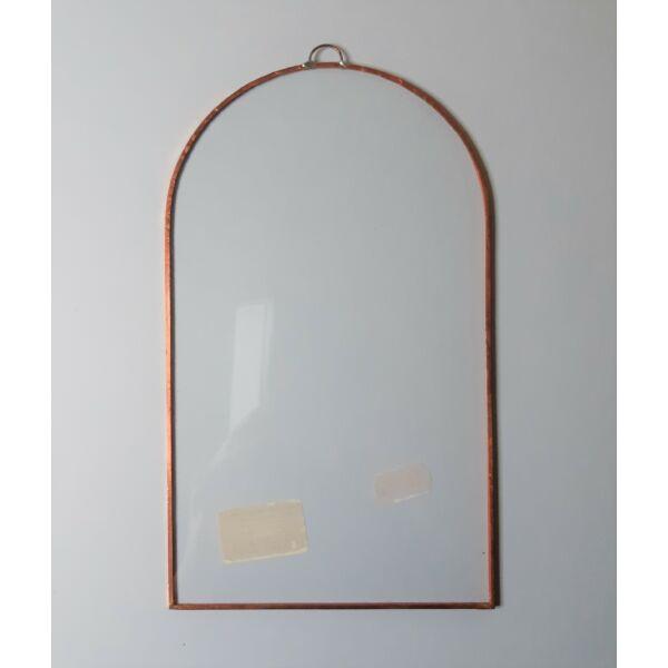 Fóliázott üveg 3mm, boltíves, 12x20