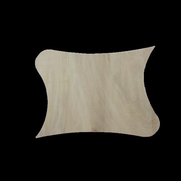 Fa mágnestábla,íves/sarkos 23 x 35 cm