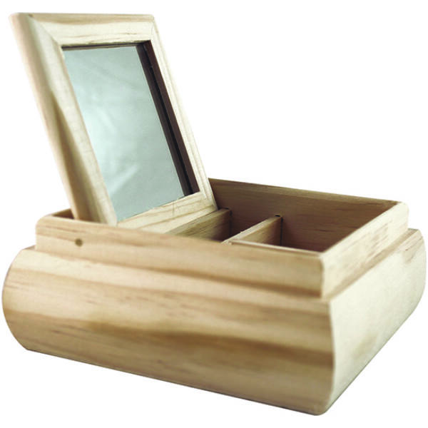 Tükrös doboz nagy 19,5 x 19,5 x 6 cm