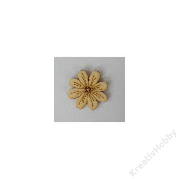 Mini virág,fadísz 20db/cs 0,7x0,7cm