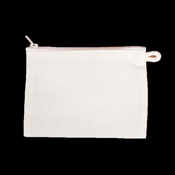 Papírzsebkendő tartó felül cipzáras 15 x 11 cm