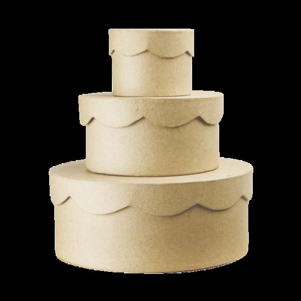 Cakkos tetejű kis doboz 13,5x7 cm közepes