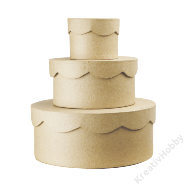 Cakkos tetejű kis doboz 8x6 cm kicsi