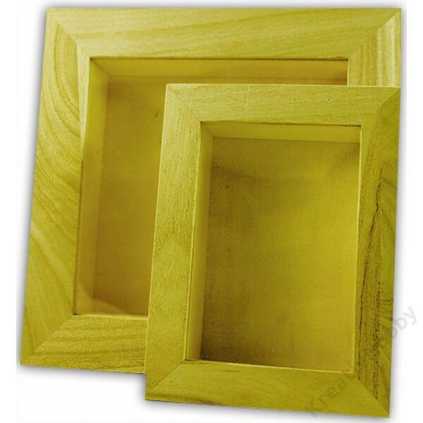 Képkeret, 3D 16 x 12 cm