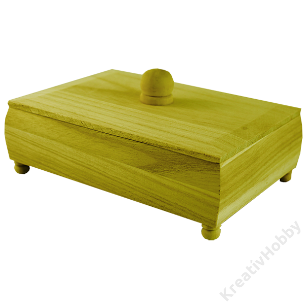 Doboz, fogós tetejű 18 x 13 x 6 cm