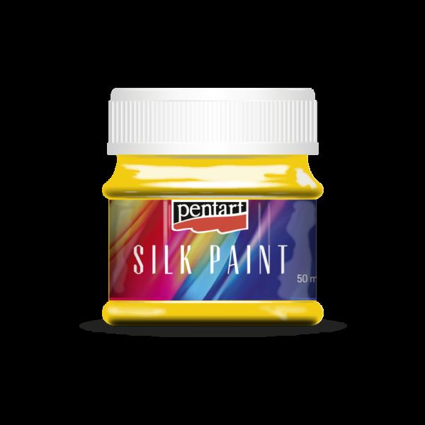 Selyemfesték 50 ml sárga