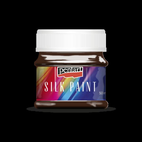 Selyemfesték 50 ml sötétbarna