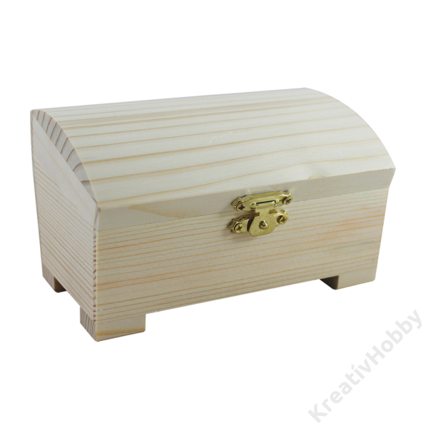 Ferde tetejű doboz, 16x10x10 cm