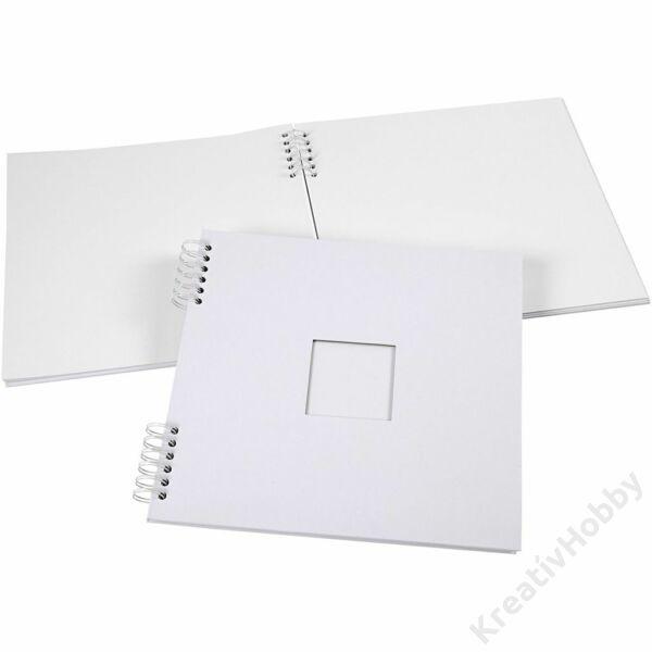 Spirálos scrapbook album 30,5x30,5 cm, 20 lap