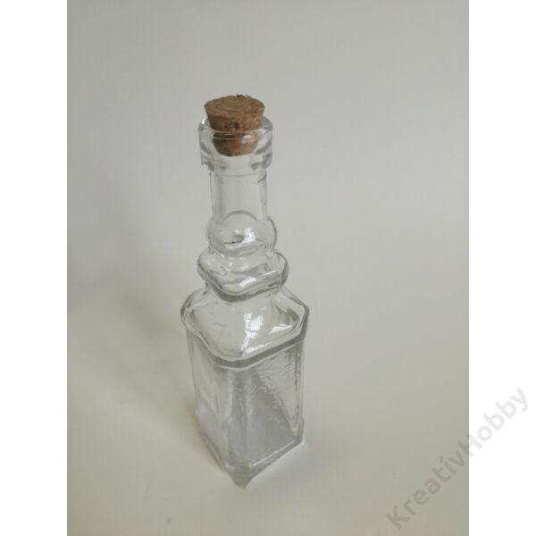 Pálinkás üveg parafadugóval, 40ml