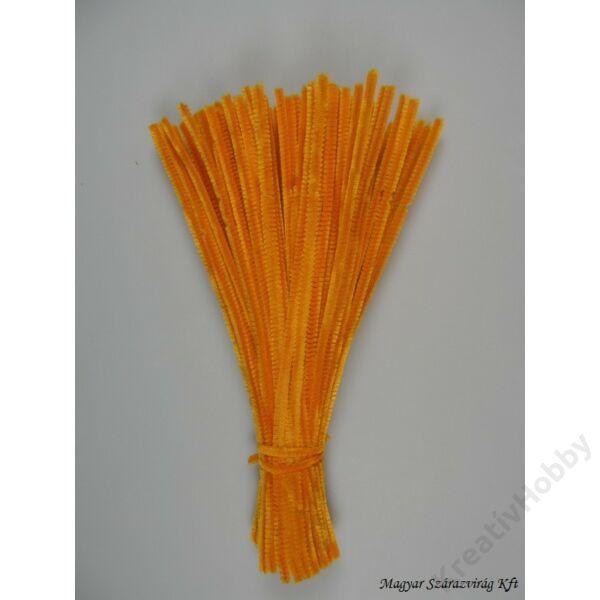 Zsenília, 10 db/csomag - mandarinsárga