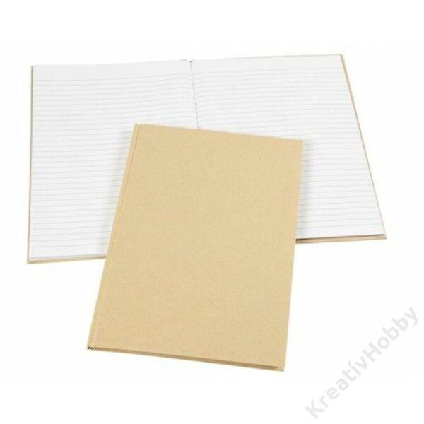Jegyzetfüzet, A6, 80 fehér lap