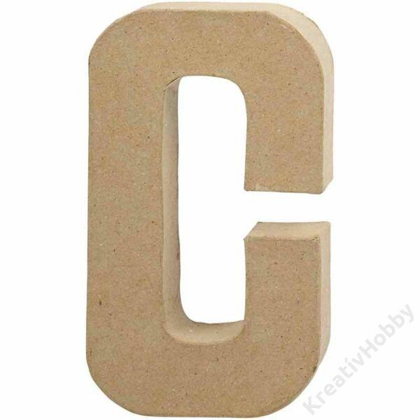 Papírmasé betű, szám